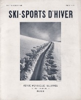 SKI SPORTS D'HIVER n° 1, oct. 1931 - revue ancienne