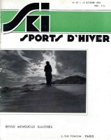 SKI SPORTS D'HIVER n° 25, oct. 1934 - revue ancienne