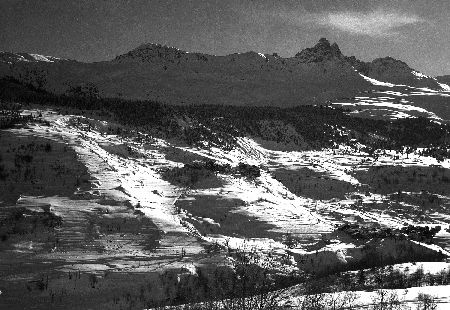 MERIBEL-LES-ALLUES - retirage photo originale (ca 1940)