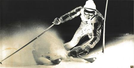 JEAN-CLAUDE KILLY - grande affiche photo négative par Photopress (ca 1967)