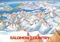 SALOMON COUNTRY - affiche originale (1983)