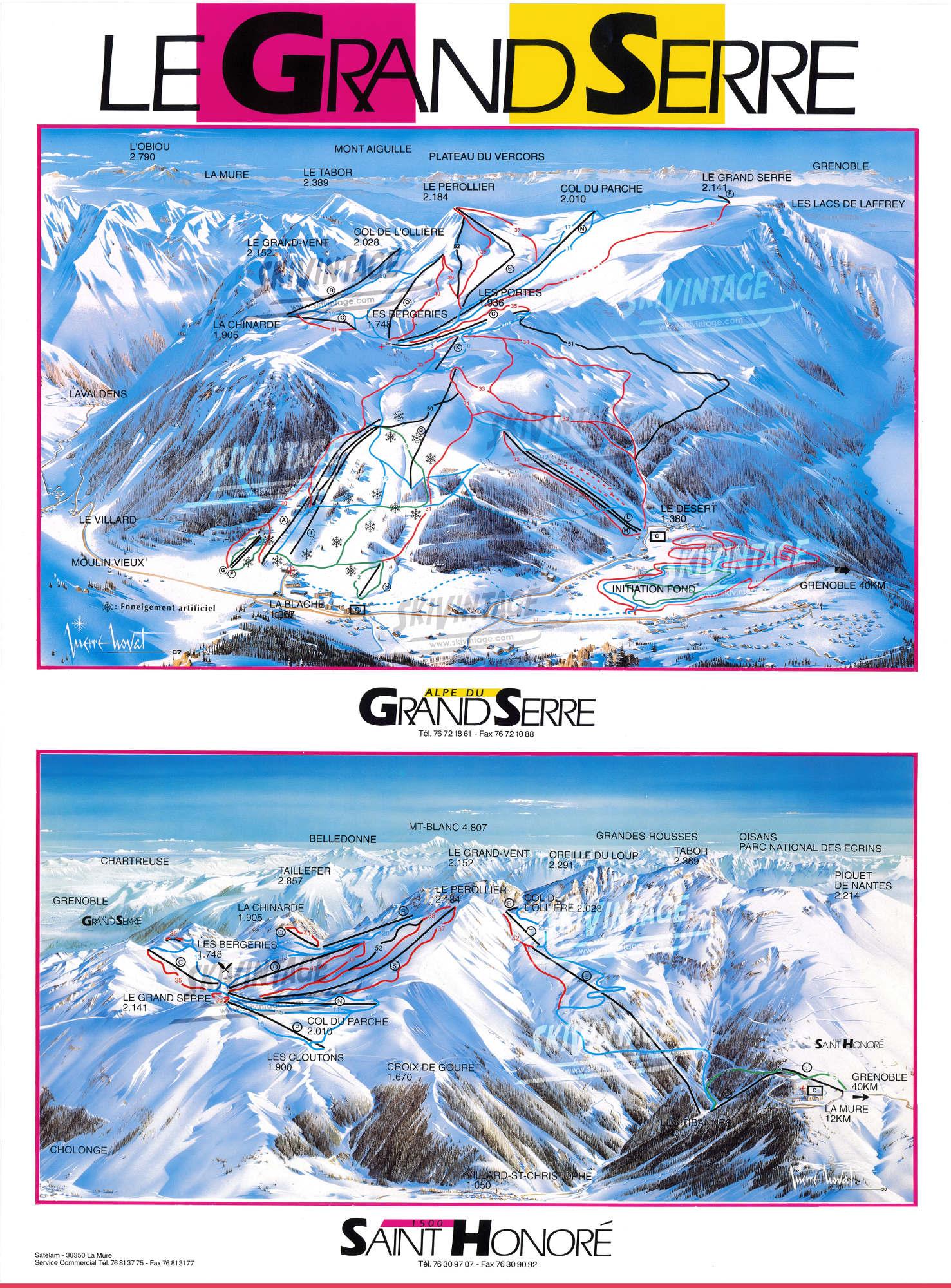 Le grand serre alpe du grand serre saint honor 1500 - Office du tourisme alpes du grand serre ...