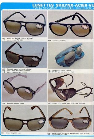 7fb8190ccaf110 Pouilloux - Les meilleures lunettes pour le ski de l amateur au champion -  Catalogue (ca 1979)