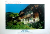 SAINT-MARTIN DE BELLEVILLE, VILLAGE DES 3 VALLEES - affiche originale (ca 1985)