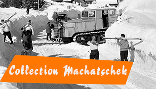 Collection Machatschek. Retirages de photographies originales de Karl Machatschek