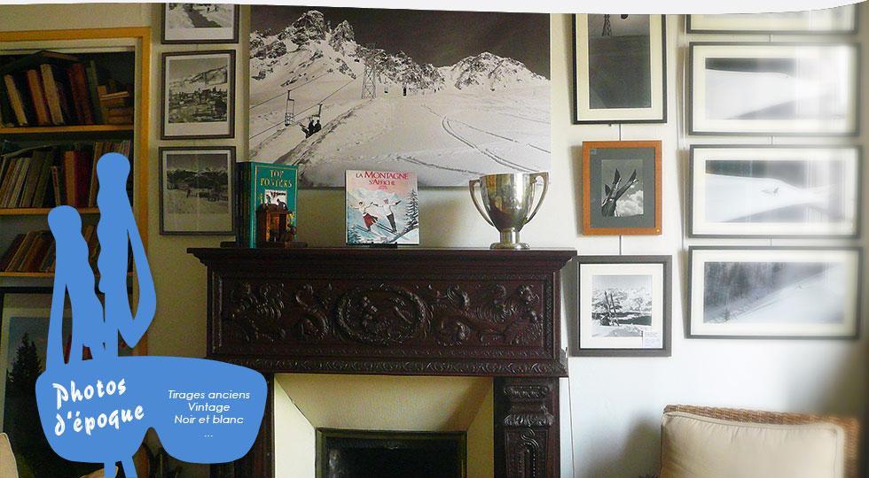 Skivintage le site sp cialis collection d coration montagne ski sp - Affiches decoration interieure ...