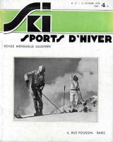 SKI SPORTS D'HIVER n° 17, oct. 1933 - revue ancienne