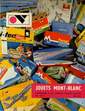 JOUETS MONT-BLANC - catalogue (ca 1970)